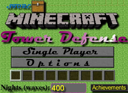 Minecraft Tower Defense 3