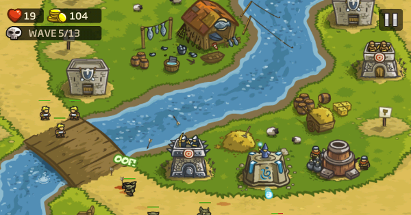 tower defence online games